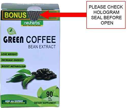 Neuherbs Green Coffee Bean Extract Supplement (90 Capsules, Pack of 2)
