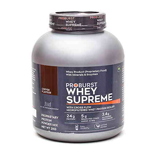 Proburst Whey Supreme Protein (2Kg, Coffee)