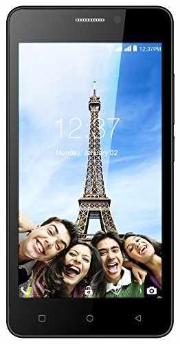 Intex Aqua Supreme Plus 16GB Black Mobile