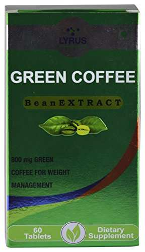 Lyrus Green Coffee Bean Extract 800mg Supplement (60 Capsules)