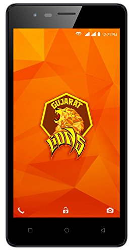 Intex Aqua Lions 4G 8GB Champange Mobile