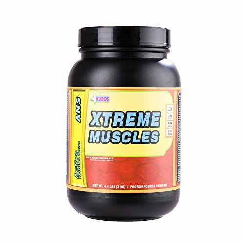 Kudos Nutrition Xtreme Muscles Weight Gainer (2Kg, Chocolate)