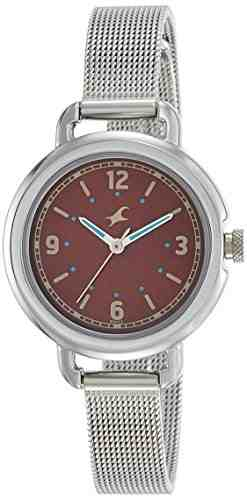 Fastrack 6123SM04 Analog Brown Dial Women's Watch (6123SM04)