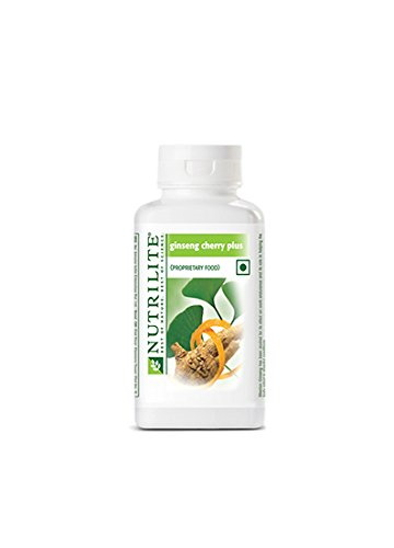 Amway Nutrilite Ginseng Cherry Plus Supplement (100 Capsules)