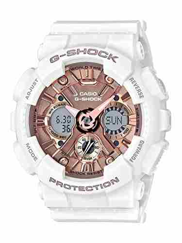 Casio G-Shock GMA-S120MF-7A2DR (G734) Analog Digital Rose Gold Dial Men's Watch (GMA-S120MF-7A2DR (G734))