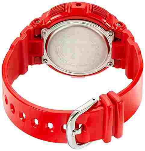 Casio Baby-G BGA-195M-4ADR (B182) Analog Digital Red Dial Women's Watch