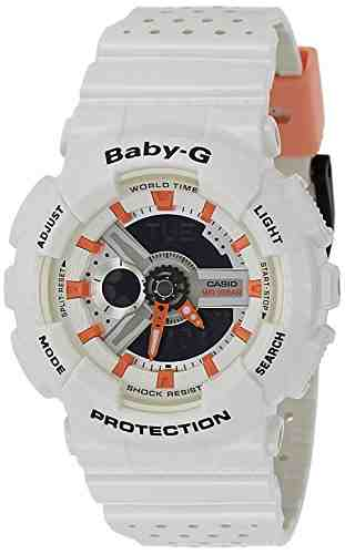 Casio Baby-G BA-110PP-7A2DR (B180) Analog Digital Multi Colour Dial Women's Watch (BA-110PP-7A2DR (B180))