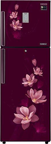 Samsung RT30M3954R7 275L Double Door Refrigerator, Magnolia Plum