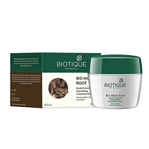 Biotique Bio Musk Root Fresh Growth Nourishing Treatment, 230 GM