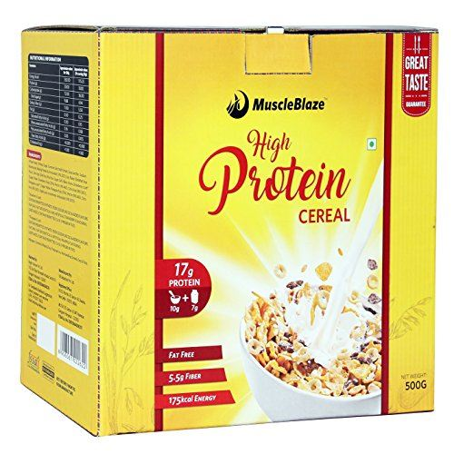 MuscleBlaze High Protein Cereal (500gm)