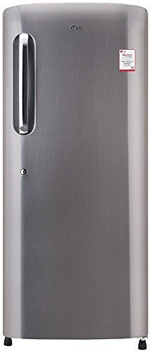 LG GL-B241APZX 235L 4S Single-door Refrigerator, Shiny Steel