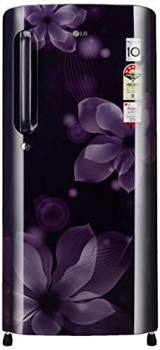 LG GL-B201APOX.APOZEBN 190L 4S Single Door Refrigerator, Purple Orchid