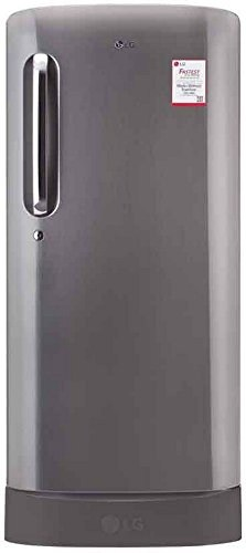 LG GL-D221APZW 215L 3S Single-door Refrigerator, Shiny Steel