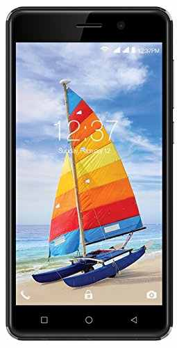 Intex Aqua Strong 5.1 Plus 8GB Black Mobile