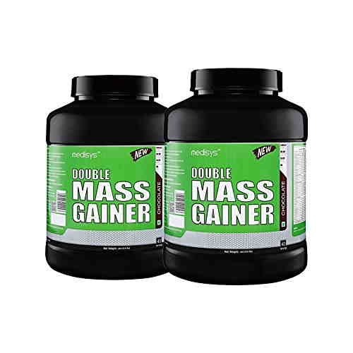 Medisys Double Mass Gainer (3Kg, Chocolate)