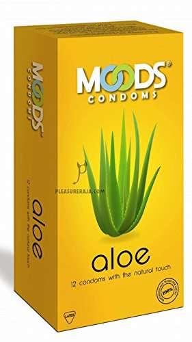 Moods Aloe Condoms (36 Condoms)