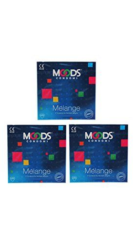 Moods Melange Condoms (3 Condoms) - Pack of 3