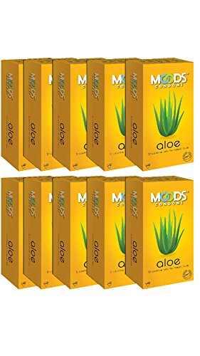 Moods Aloe Condoms (120 Condoms)