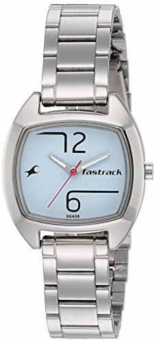 Fastrack 6162SM01 Analog Blue Dial Women's Watch (6162SM01)