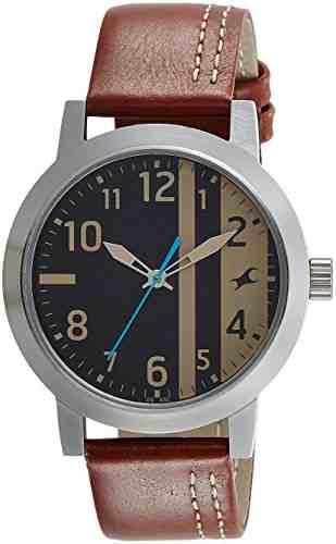 Fastrack 3162SL02 Analog Black Dial Men's Watch