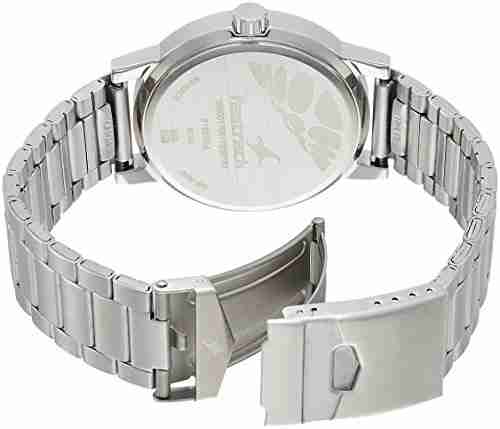Fastrack 3162SM01 Analog Stainless Steel Beige Dial Men's Watch