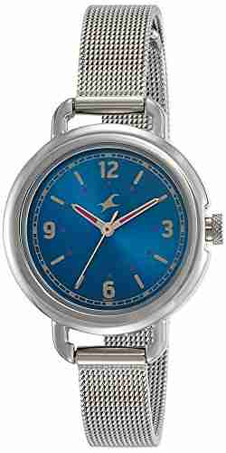 Fastrack 6123SM03 Analog Blue Dial Women's Watch (6123SM03)