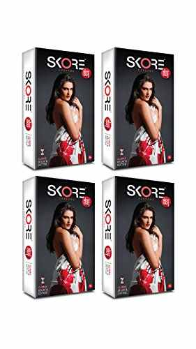 Skore Notout Condoms (40 Condoms) - Pack of 4