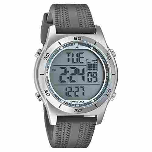 Fastrack 38033SP03J Sports Digital Grey Dial Men's Watch
