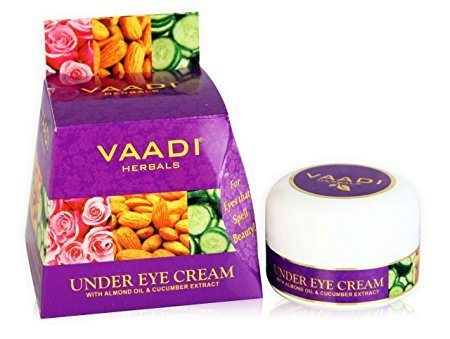 Vaadi Herbals Almond Oil & Cucumber Under Eye Cream (30gm)