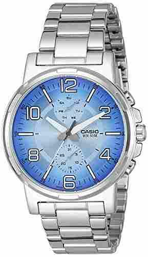 Casio Enticer MTP-E313D-2B2VDF (A1213) Analog Blue Dial Men's Watch