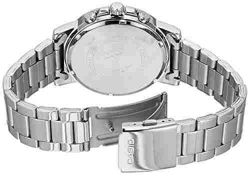 Casio Enticer MTP-E313D-2B2VDF (A1213) Analog Blue Dial Men's Watch (MTP-E313D-2B2VDF (A1213))