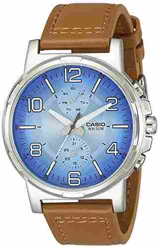 Casio Enticer MTP-E313L-2B2VDF (A1215) Analog Blue Dial Men's Watch (MTP-E313L-2B2VDF (A1215))