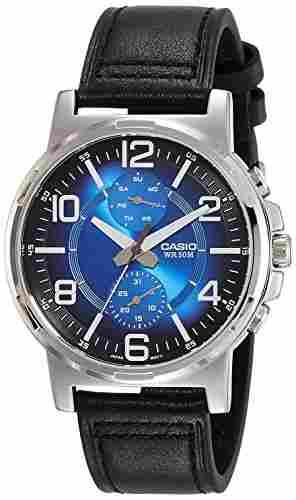 Casio Enticer MTP-E313L-2B1VDF (A1214) Analog Blue Dial Men's Watch