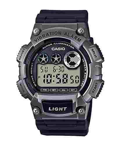 Casio Youth W-735H-1A3VDF (D145) Digital Black Dial Men's Watch