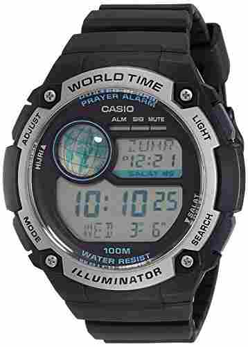 Casio Youth CPA-100-1AVDF (D143) Digital Black Dial Men's Watch