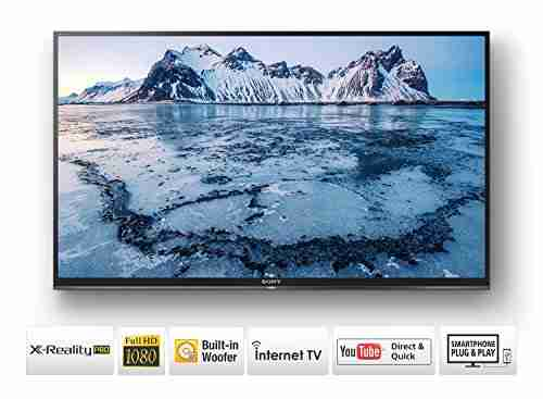 Sony Bravia KLV-32W672E Smart LED TV - 32 Inch, Full HD (Sony Bravia KLV-32W672E)