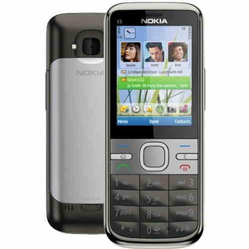 Nokia C5 128 MB Grey Mobile