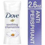 Dove Advanced Care Soothing Chamomile Antiperspirant Deodorant, 75 ml