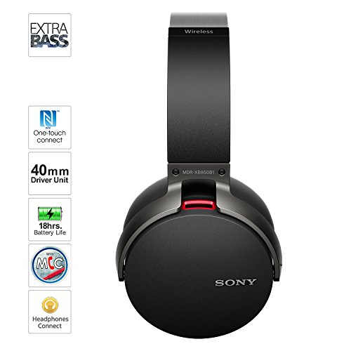 Sony MDR-XB950BT Over-the-ear Bluetooth Headset