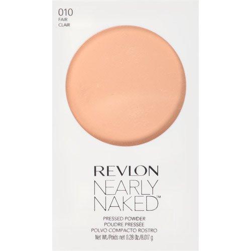 Revlon Nearly Naked Pressed Powder, 010 Fair