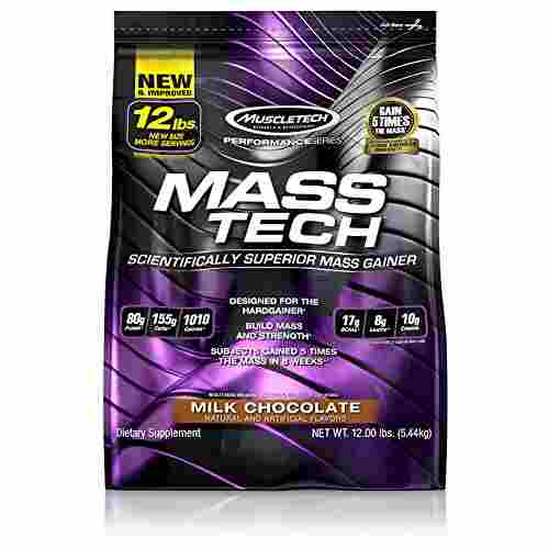 Muscletech Mass Tech Mass Gainer (5.44Kg, Chocolate)