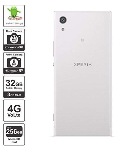 Sony Xperia XA1 (Sony G3116) 32GB White Mobile