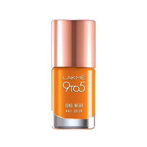Saffron Space Lakme 9 To 5 Long Wear Nail Color