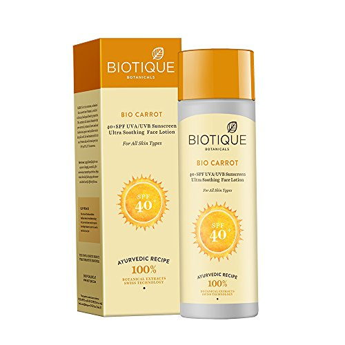Biotique Bio Carrot 40+ SPF Sunscreen