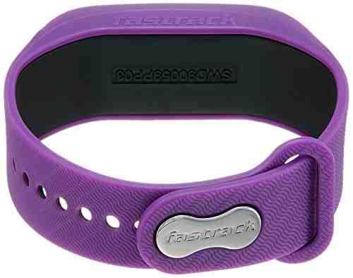 Fastrack SWD90059PP03 Reflex Smartwatch Band Digital Black Dial Unisex Watch