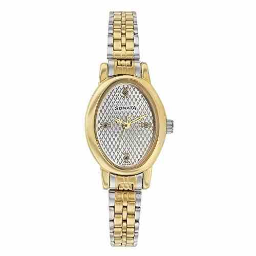 Sonata 8100bM02 Analog Silver Dial Women's Watch (8100bM02)