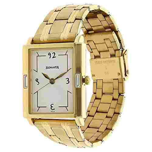 Sonata 7110YM01 Analog Watch