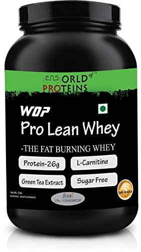 WOP Pro Lean Whey Protein (908gm / 2lbs, Café Arabica)