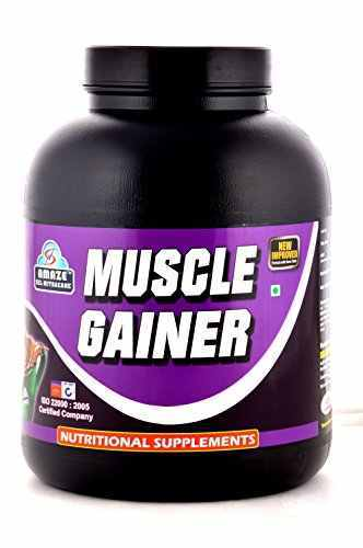 Amaze Muscle Gainer (3Kg, Chocolate)