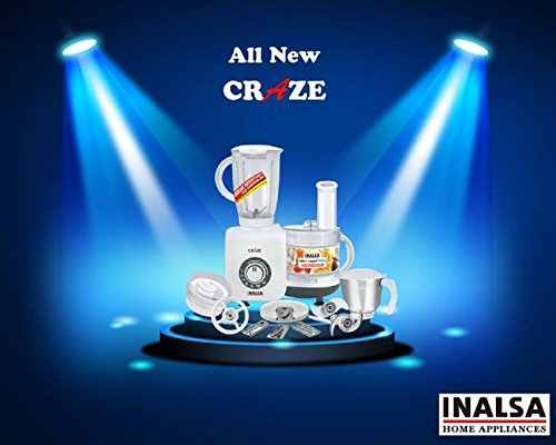 Inalsa Craze 700W Food Processor
